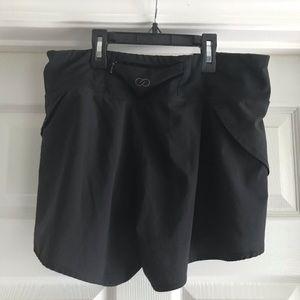 Calia Black Running Shorts
